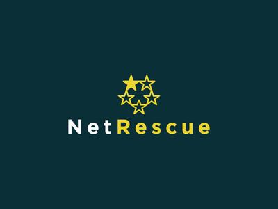 NetRescue shield stars netrescue