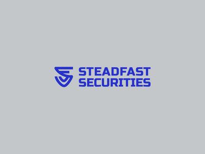 Steadfast Securities s shield shield ss monogram ss security steadfast securities securities steadfast