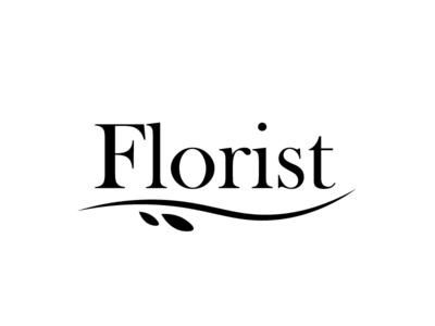 logo florist design vector logo
