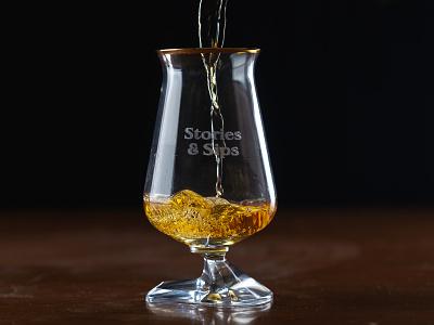Stories & Sips Identity pub irish whiskey ireland whiskey logo identity brand branding