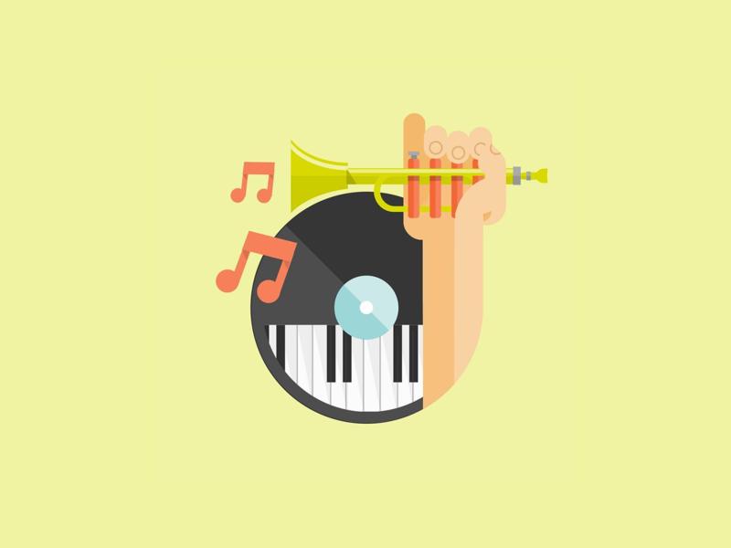 Music Program - The Salvation Army corporate illustration vector vectorart digitalart digital illustration