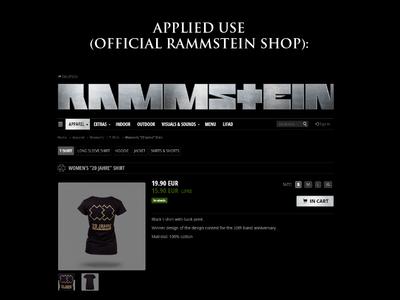 Rammstein XX T-Shirt