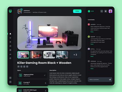 Hermanos PC: Social Platform social platform social platform web interface web app ux ui user interface user experience design