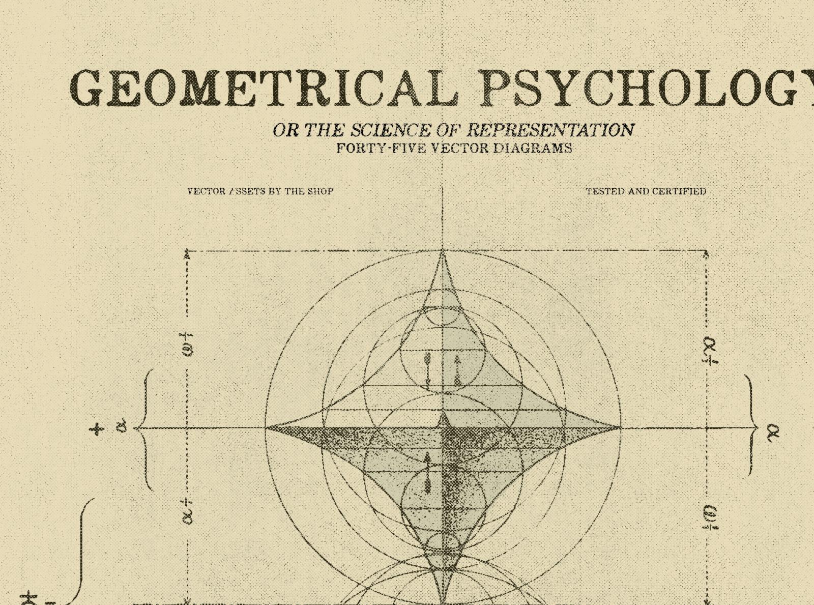 The shop geometrical psychology diagrams hero shot rev 01 03