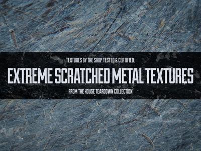 Extreme scratched metal textures