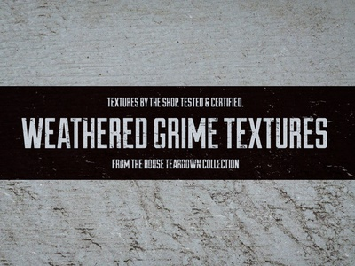 Weathered grime textures layer mask masking textures dirty dirt sludge textures mud textures scum textures grime textures house teardown collection texture pack the shop
