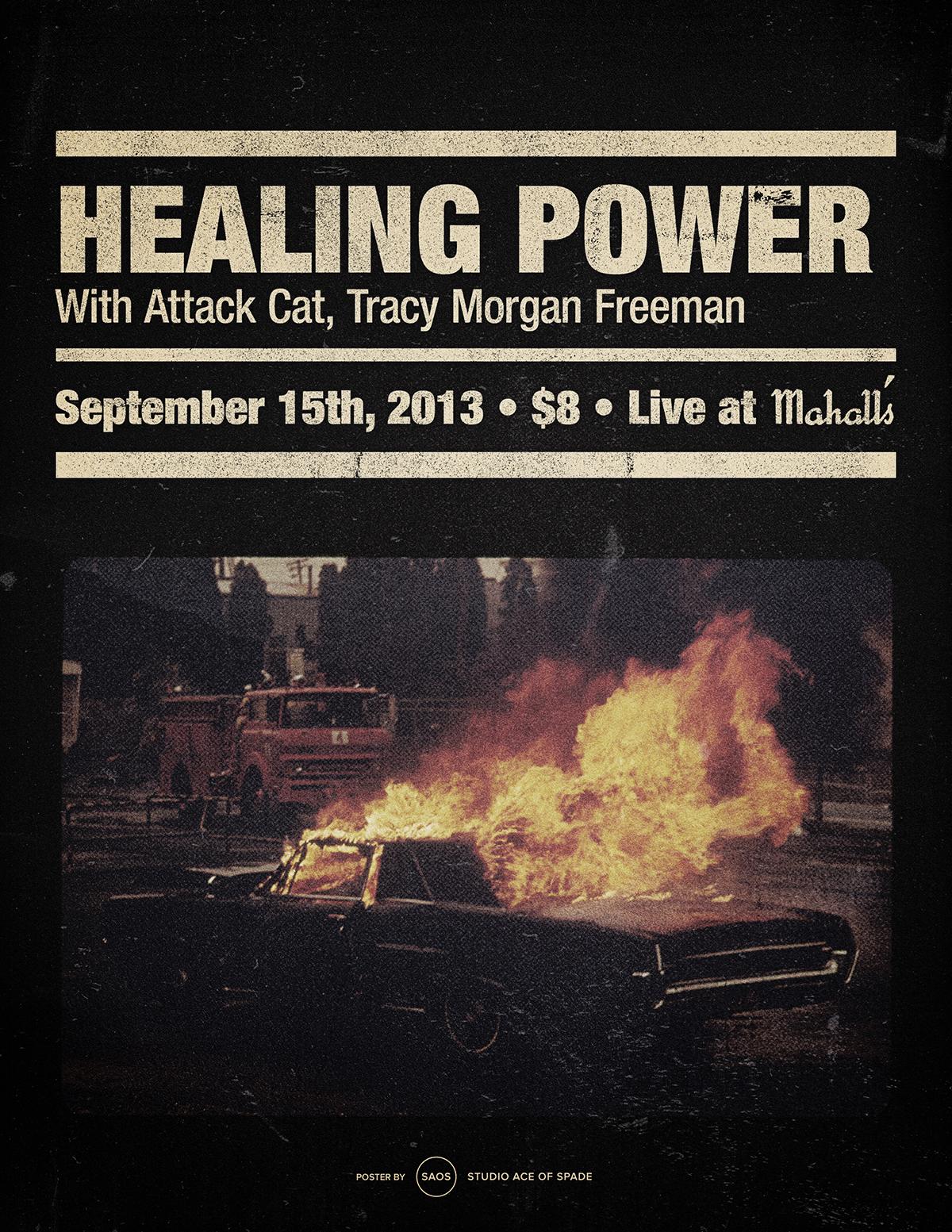 Saos bad racket healing power poster rev 01 1200x1600