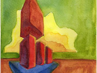 Volumes VII watercolor art watercolor