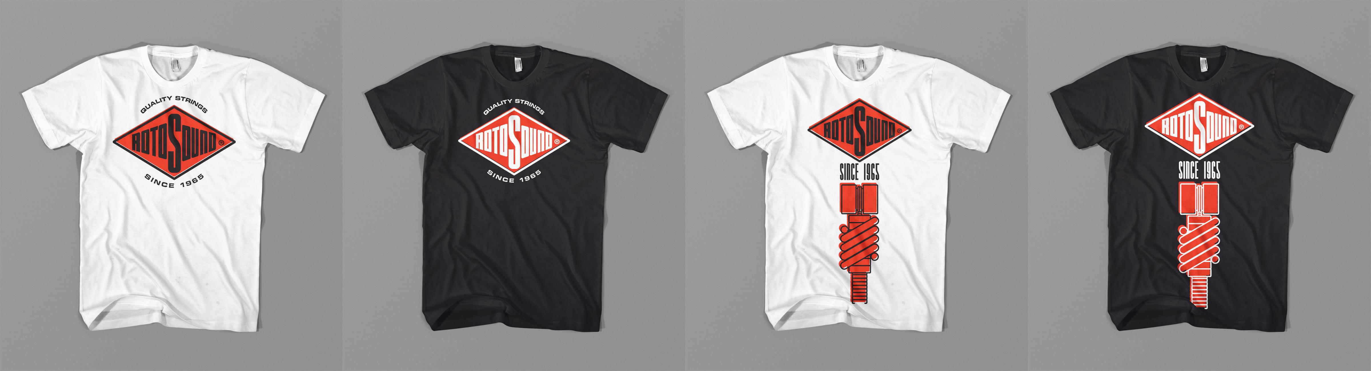 Saos rotosound swing bass 50th apparel design contest rev 01 mockups