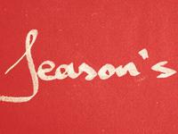 Season's...