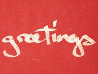 ...greetings!