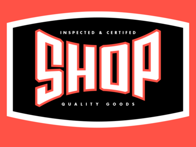 The Shop badge, c2