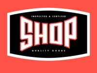 The Shop badge, c2r2