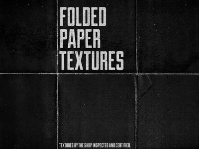 Folded paper textures I and II the shop creative market product textures texture pack banner folded paper folds noise grunge subtle crumpled paper