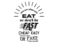You are what you eat, so...