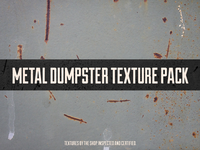 Introducing the metal dumpster texture pack