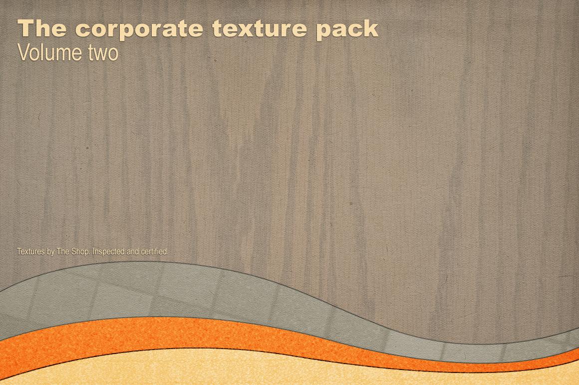 The corporate texture pack volume 02 hero shot rev 01