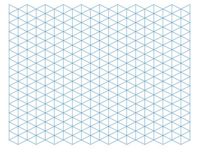 Trixel grid