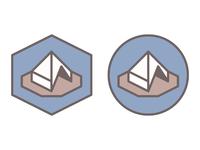 Trixel Tent - Final color palette
