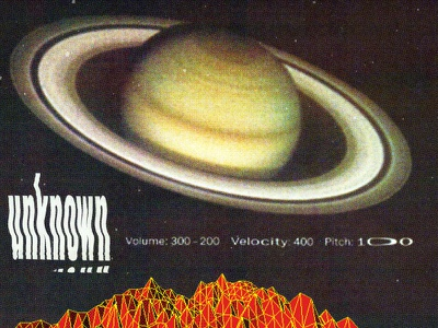 #collageretreat 061. 01/01/2021. distorted type typography vintage cgi planet saturn space sbh the shop surreal weird textured digital collage collage art collage
