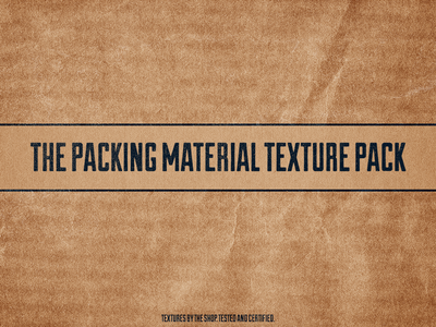 The packing material texture packs
