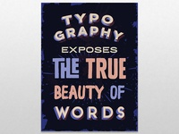 Typographic poster fun