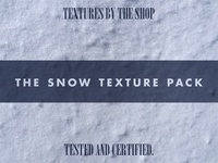 Introducing the snow texture pack!