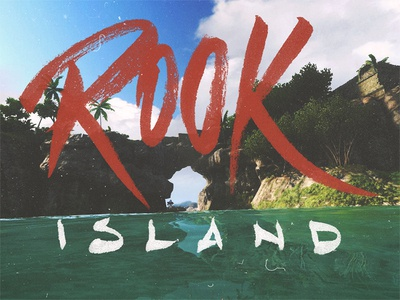Far Cry 3 - Rook Island #1 far cry 3 far cry ubisoft brush pen fun video game gaming lettering hand lettering fan art rook island