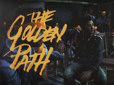Far Cry 4 - The Golden Path far cry 4 far cry ubisoft brush pen fun video game gaming lettering hand lettering fan art golden path