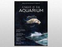 A night at the aquarium