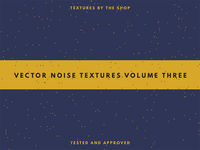 Introducing The Shop's third vector noise texture pack