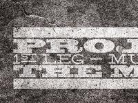 Project 52 mixtape cover - Typelock progress IV