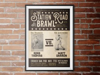 Create a Vintage Boxing Event Poster