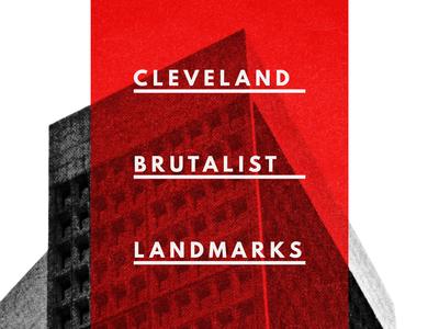 Building a brutalist conference poster