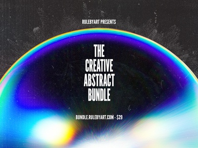 Rule by Art's creative abstract bundle - 22 hours left