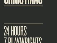 NWA 24/7 Christmas show poster - Text