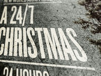 NWA 24/7 Christmas show poster - Done