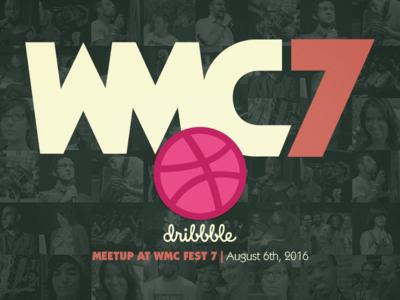 Dribbble meetup at WMC7!
