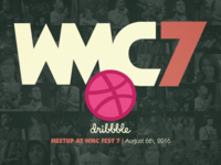 Dribbble meetup at WMC7!