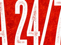 NWA 24/7 Christmas show poster - Reboot