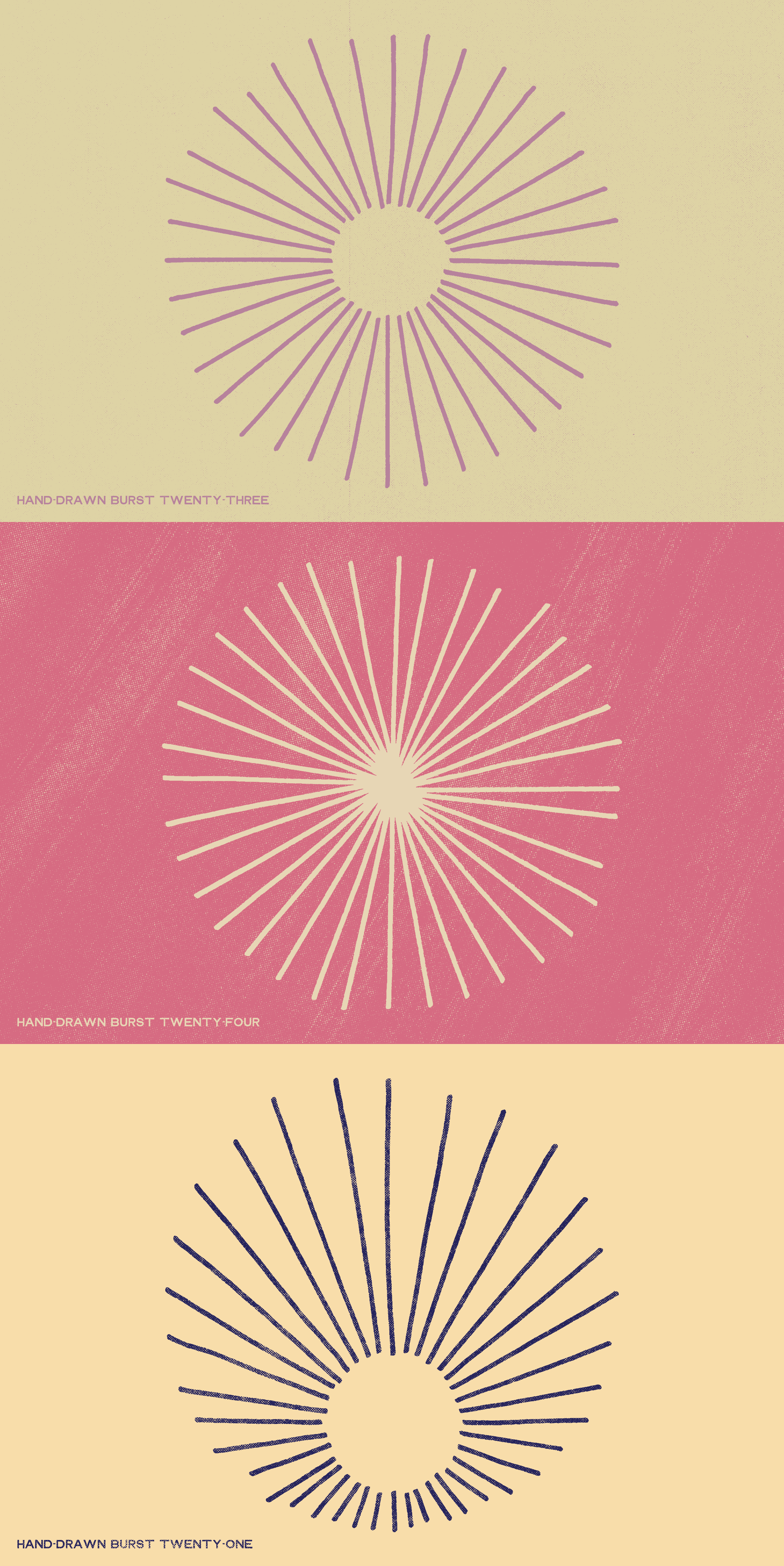 The shop hand drawn burst elements prvs c1r1 dribbble stacked 04