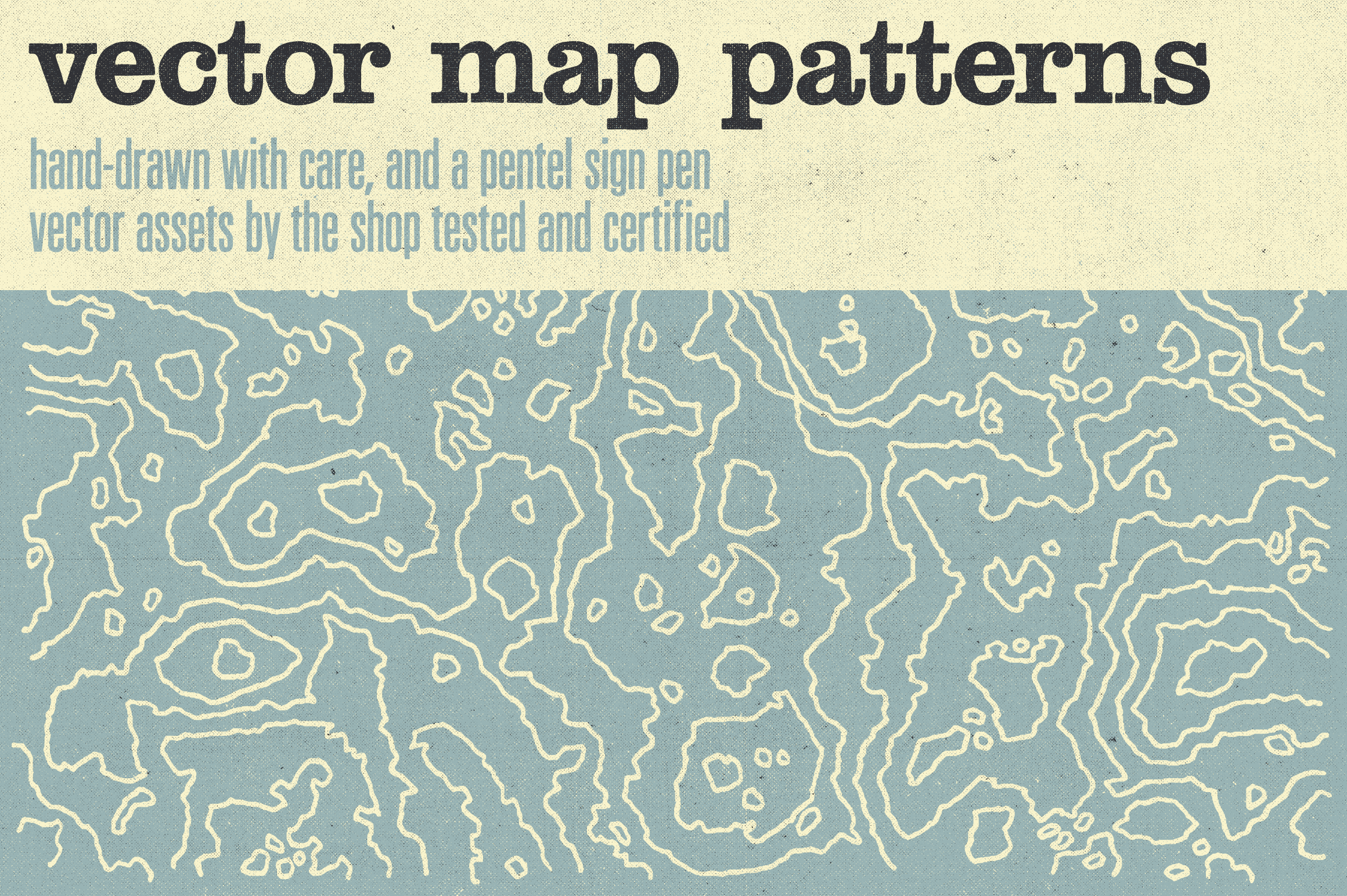 The shop vector hand drawn map patterns hero image c1r1 2320x1544