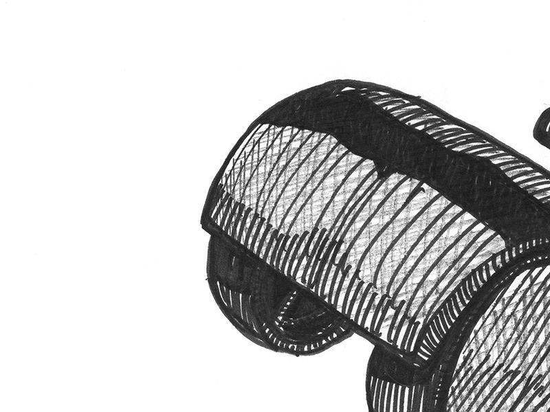 Inktober 2016: day twenty-four inktober sbh drawing sketch illustration inktober 2016 the shop pentel sign pen black and white