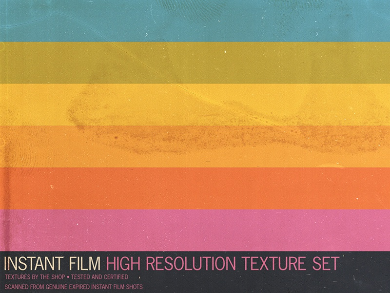 The expired instant film texture pack overlay textures screen textures nostalgia retro overlay sbh the shop 2400 ppi high resolution film burn dust textures dust film noise expired film polaroid textures film textures instant film