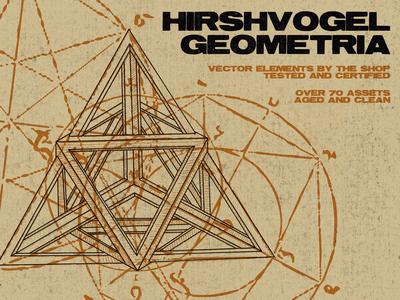Hirschvogel geometria vector assets