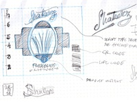 Shakerz brand and product label - Concept 01