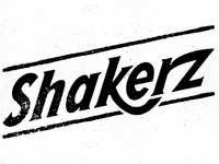 Shakerz brand and product label - Type treatment