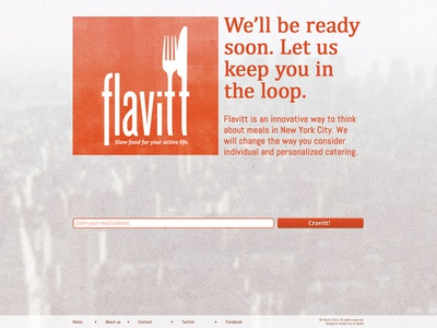 Flavitt - Splash page - Revision 01 - Textured