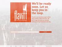 Flavitt - Splash page - Revision 01 - Textured