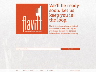 Flavitt - Splash page - Revision 01 - Clean